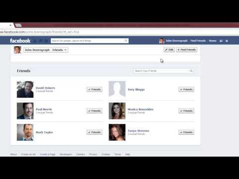 How to Unblock Someone's Facebook Status Updates