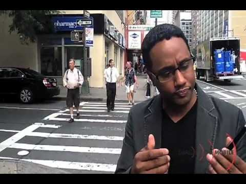 Mario Armstrong Testing Google Wallet Live in NYC