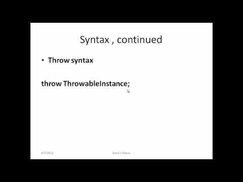 Exception Handling in JAVA-Part 1
