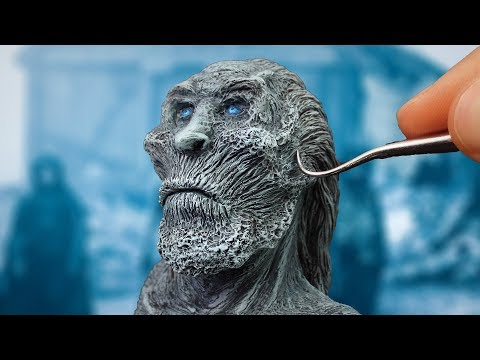 Making White Walker from Game of Thrones