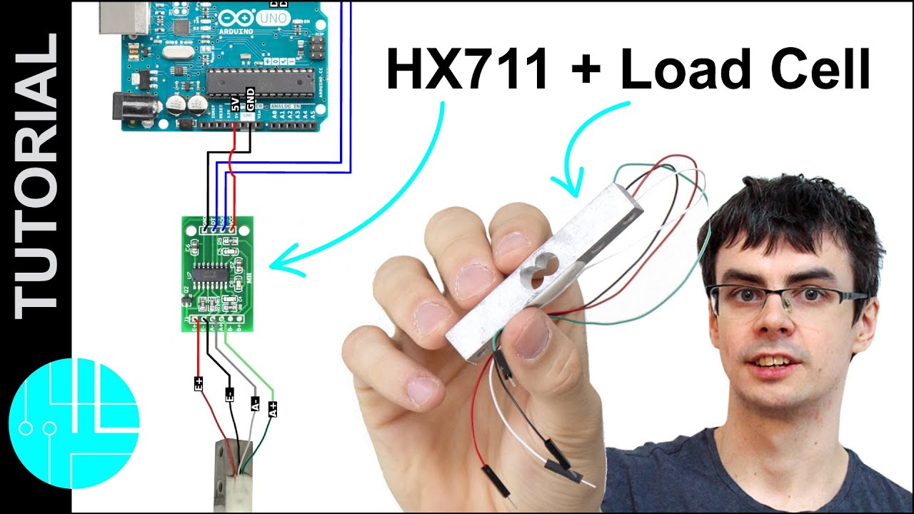 HX711 with a Four Wire Load Cell and Arduino   Step by Step Guide.
