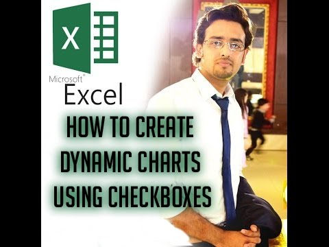LEARN EXCEL: How to Create Dynamic Charts Using Checkboxes
