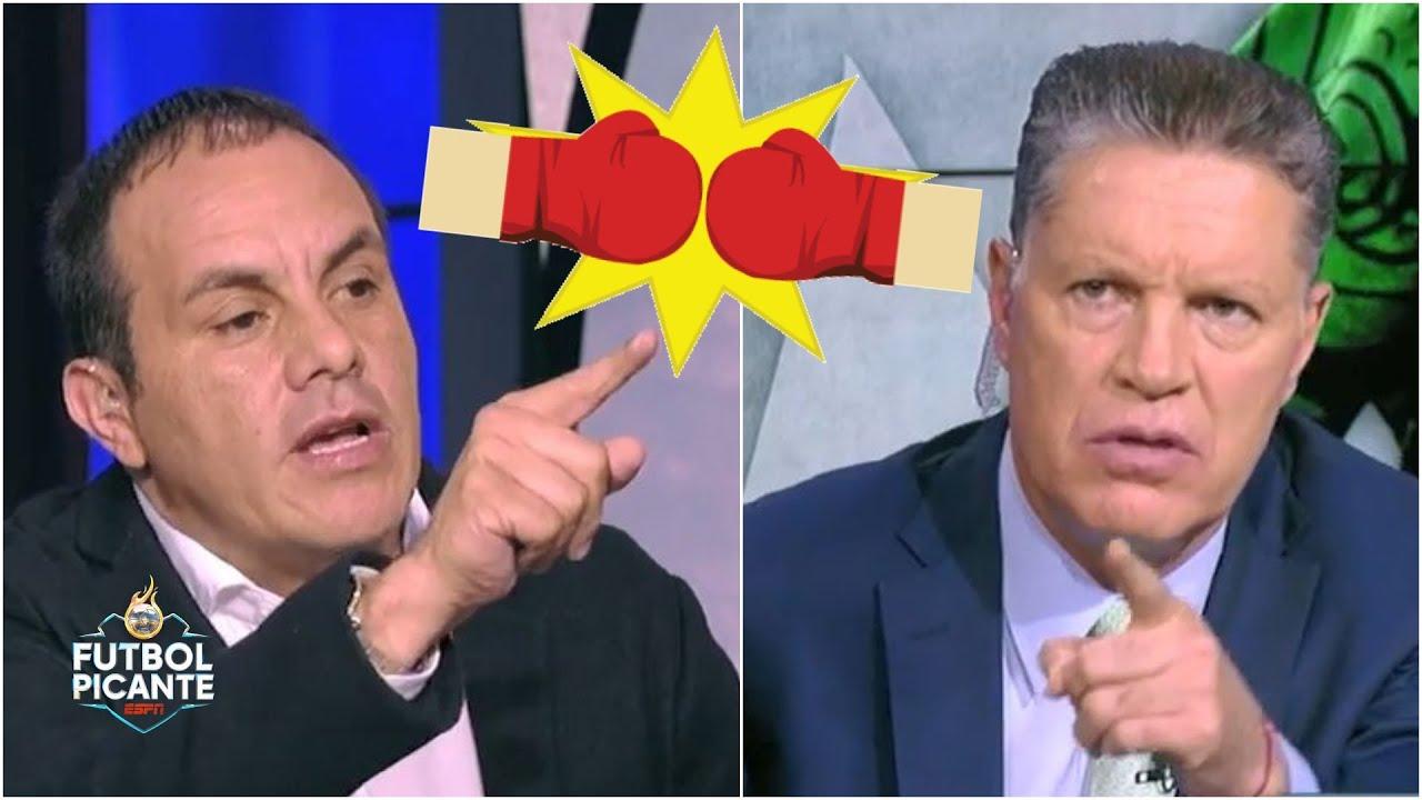 TRAPITOS AL SOL El día en que Cuauhtémoc Blanco y Ricardo Peláez se dijeron de todo   Futbol Picante