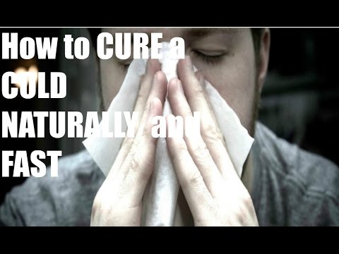 How to Cure a Cold FAST and NATURALLY with ONE Ingredient!