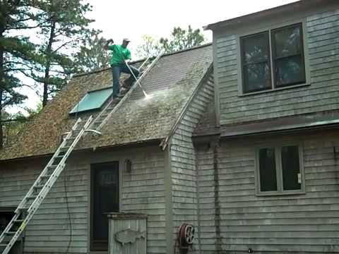 Amazing Roof Cleaning Video must watch
