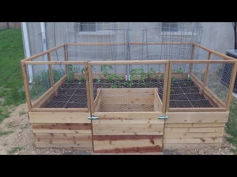 Around the Home: #25 Building a U Shaped Raised Bed Part 1