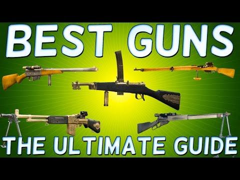 Battlefield 1 BEST GUNS for all Classes - Battlefield 1 BEST WEAPON for all Classes