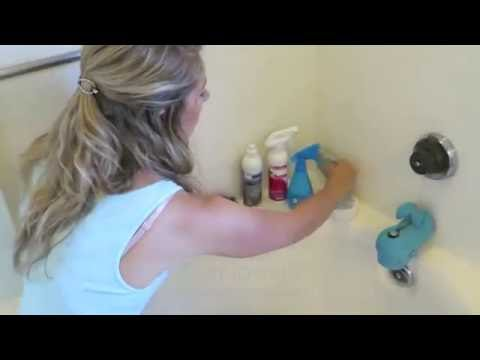 Cleaning your Shower with Norwex-No harsh chemicals