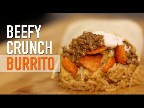 DIY Beefy Crunch Burrito