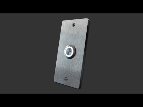 Stainless Steel PUSH Doorbell Button
