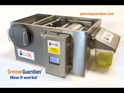 THE GREASE GUARDIAN X::AUTOMATIC GREASE REMOVAL UNIT