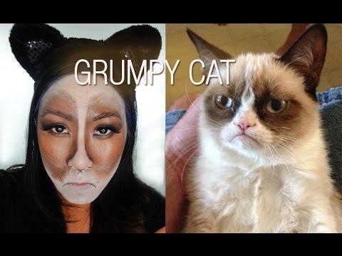 Halloween Makeup - Grumpy Cat - Easy!