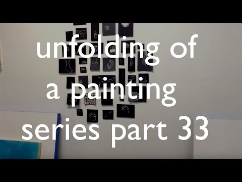 Unfolding of a Painting Series part 33