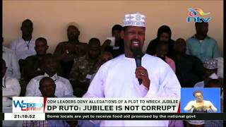 Download DP Ruto dismisses corruption claims within Jubilee party Video
