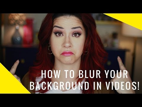 How to Blur the Background of a Video | Blurry Background | Samantha Ebreo