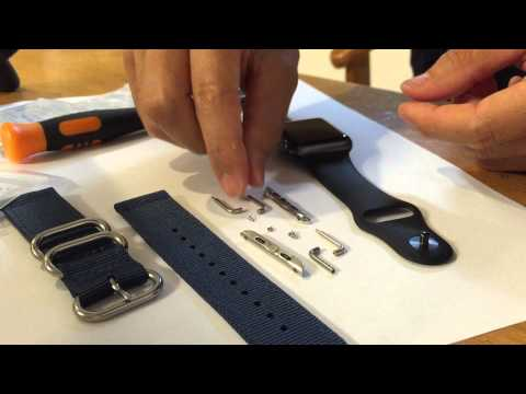 How to Change Watch Band Adapter for Apple Watch