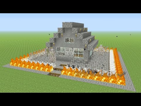 5 EASY! Ways To Make Your House More Defended In Minecraft #2