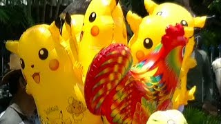 Balonku Ada Lima Versi China Percil - Balon Karakter Pokemon, Masha, Boboiboy, Upin Ipin, etc
