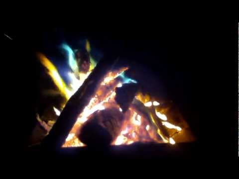 Using Copper II Chloride (CuCl2) to Color Campfires