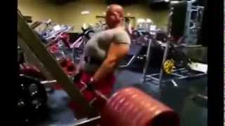 The Pigeon Man Working Out