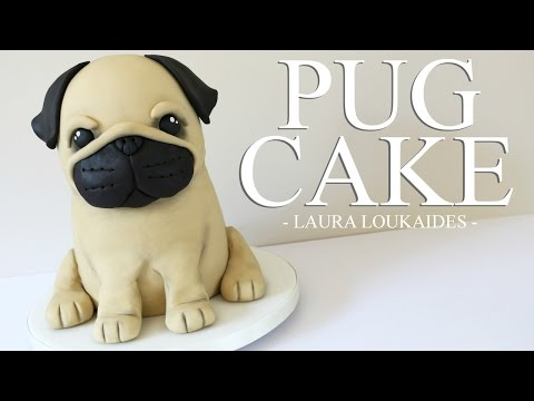 How to make a 3D Pug Cake - Laura Loukaides