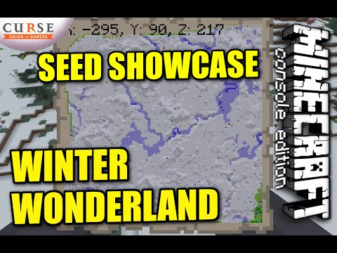 MINECRAFT - PS3 - WINTER WONDERLAND - SURVIVAL - SEED SHOWCASE ( PS4 / XBOX )