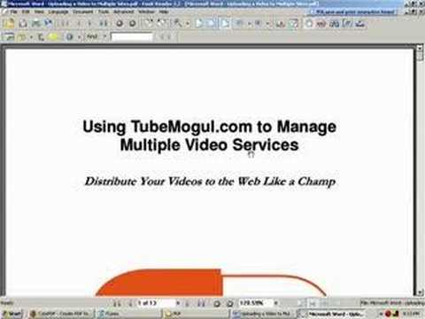 Adobe Acrobat Alternatives - 2 - Converting Files to PDFs