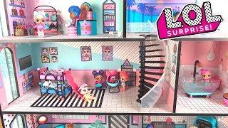 LOL Surprise House Maison des Poupées LOL House Tour