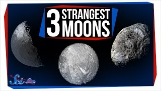 3 of the Strangest Moons in the Solar System