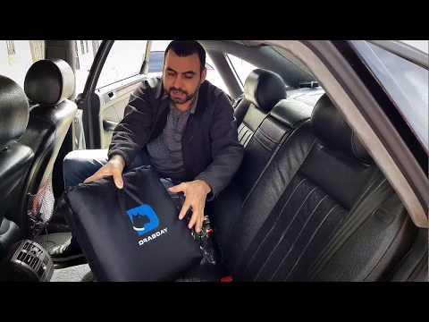 Pet Car Back Seat Cover – Triple Layer Padding & Waterproof DRABDAY