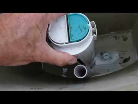 How to easily fix the push button cistern no tools required