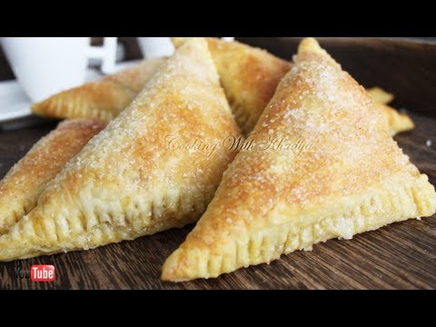 Delicous Easy Apple Turnovers Recipe ( Appelflappen )