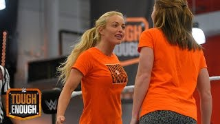 Sara squares off with Amanda: WWE Tough Enough, August 11, 2015