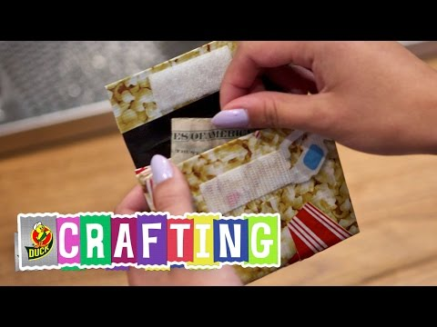 How to Craft a Duct Tape Accordion Wallet