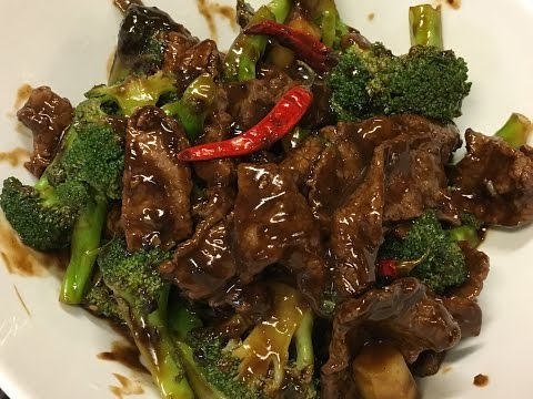 Chinese Beef With Broccoli | Velveting Meat