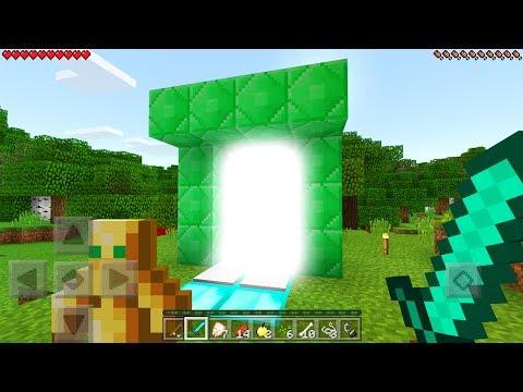 New Portal in Minecraft Pocket Edition (1.1.2 Update)