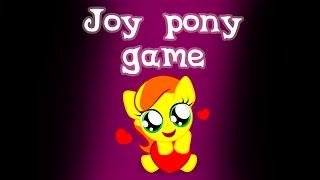 Игра пони joy pony game