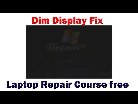 HP 15 Series Laptop -Dim Display Fix
