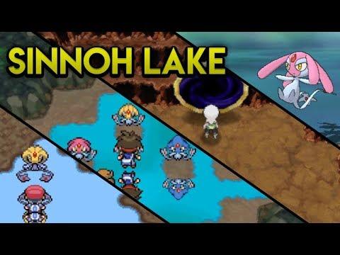 Evolution of Lake Guardians - Uxie, Mesprit, Azelf (2007 - 2017)