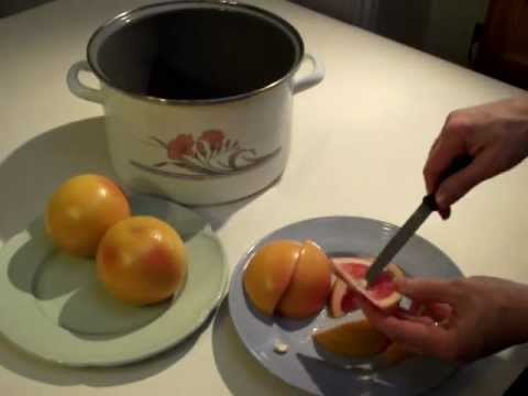 How to Make Red Grapefruit Marmalade