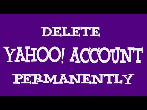 How to Terminate Yahoo Acocunt | Delete Yahoo Account Permanently