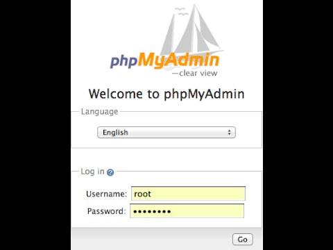 7) How to setup phpmyadmin mysql database  - Secure PHP Login System
