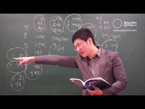 Korean Grammar for Speaking - Reviewing Grammar, decode Korean language by Songwon