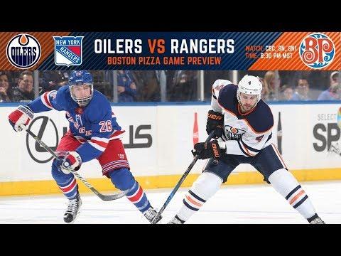 NHL 18 PS4. REGULAR SEASON 2017-2018: New York RANGERS VS Edmonton OILERS. 03.03.2018. (NBCSN) !