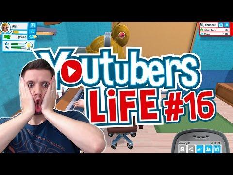 YOUTUBERS LIFE #16 ★ ICH WILL EIN EIGENES NETZWERK! ★ Let's Play Youtubers Life Deutsch
