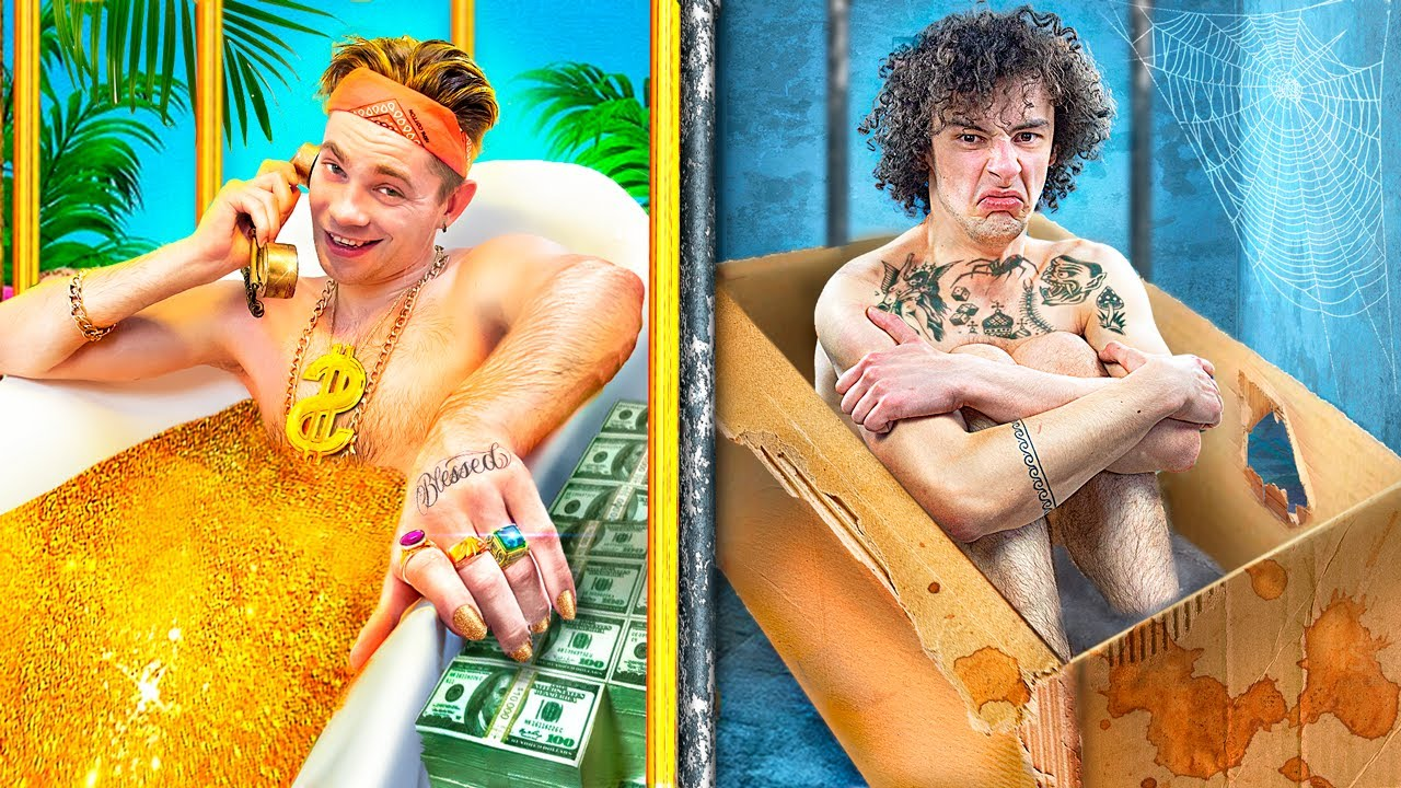 Rich Jail vs Broke Jail / Funny Situations