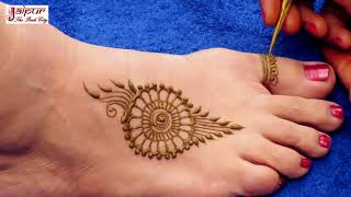 New Best Mehndi designs Idea for legs || easy and simple mehndi designs