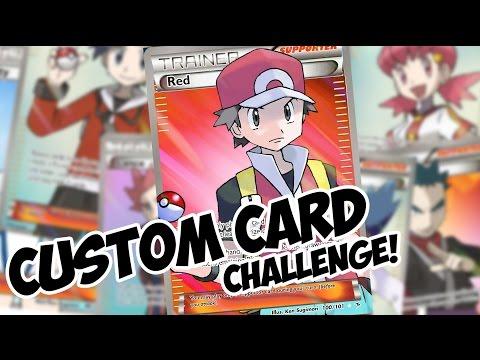 Custom Pokemon TCG Challenge! You IN?!