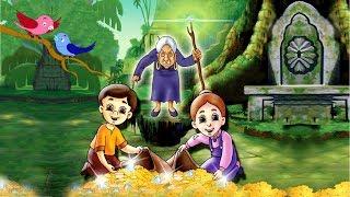 हॅन्सल और ग्रेटल  चॉकलेट के घर कि चुड़ैल  Hansel & Gretel, World Famous Fairy Tale By JingleToons