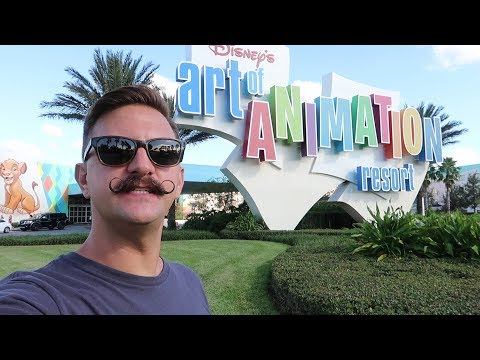 Disney World's Art Of Animation Resort   Hotel Grounds Walking Tour, Pools & Food Locations!